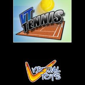The cover art of the game VT Tennis.