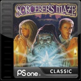 The cover art of the game Sorcerer's Maze.