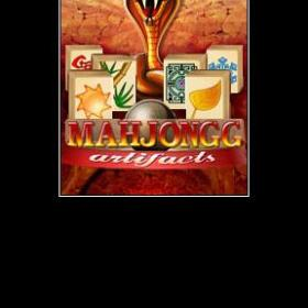 The cover art of the game Mahjongg Artifacts.
