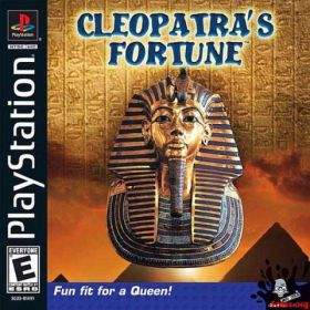 The cover art of the game Cleopatra's Fortune.