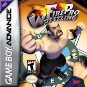 The cover art of the game Fire Pro Wrestling.