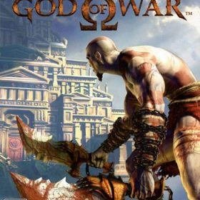 The cover art of the game God of War.