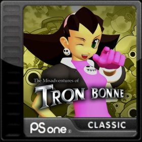 The cover art of the game The Misadventures of Tron Bonne.