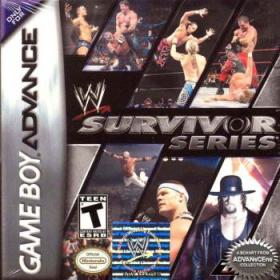 The cover art of the game WWE Survivor Series.