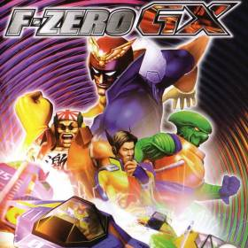 The cover art of the game F-Zero GX.