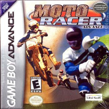 The coverart image of Moto Racer Advance