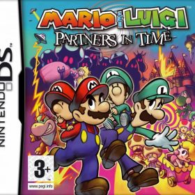 The coverart thumbnail of Mario & Luigi: Partners in Time