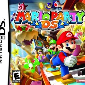 The cover art of the game Mario Party DS.