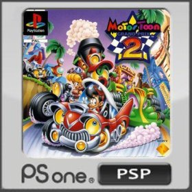 The coverart thumbnail of Motor Toon Grand Prix 2