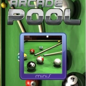 The cover art of the game Arcade Pool.
