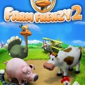 The cover art of the game Farm Frenzy 2.