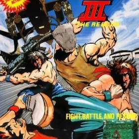 The cover art of the game Ikari III: The Rescue.