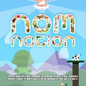 The cover art of the game Nom Nation.