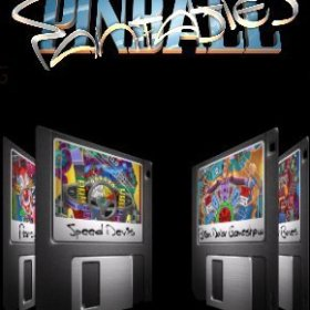The cover art of the game Pinball Fantasies (v2).