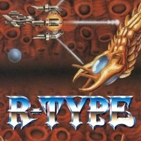 The cover art of the game R-Type.
