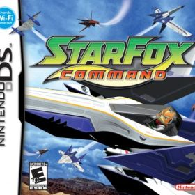 The cover art of the game Star Fox Command.