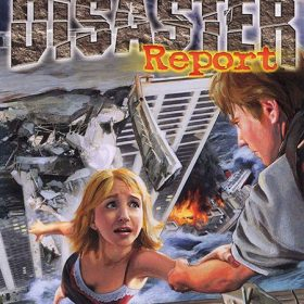 The cover art of the game Disaster Report.