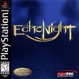 The cover art of the game Echo Night.