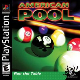 The cover art of the game American Pool.