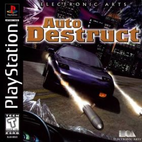 The cover art of the game Auto Destruct.