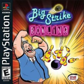 The cover art of the game Big Strike Bowling.