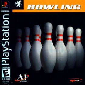 The cover art of the game Bowling.