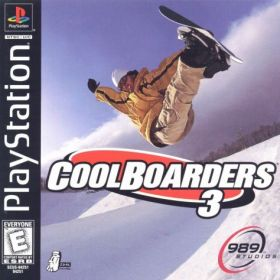 The cover art of the game Cool Boarders 3.