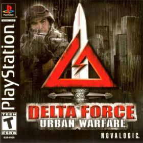 The cover art of the game Delta Force: Urban Warfare.