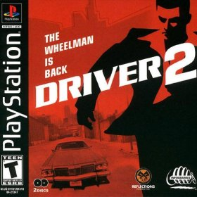 The cover art of the game Driver 2: The Wheelman is Back.