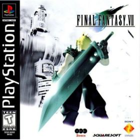 The cover art of the game Final Fantasy VII [Retranslation vR04c].
