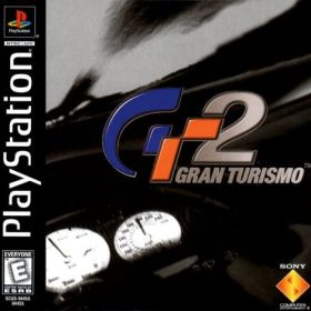 The cover art of the game Gran Turismo 2.