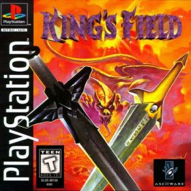 The cover art of the game King's Field.