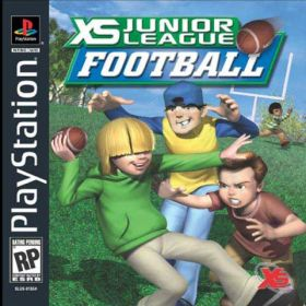 The cover art of the game XS Junior League Football.