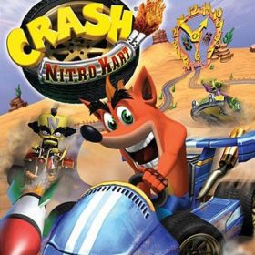 The cover art of the game Crash Nitro Kart.