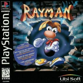 The cover art of the game Rayman.