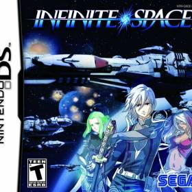 The cover art of the game Infinite Space.