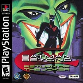 The cover art of the game Batman Beyond: Return of the Joker.