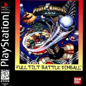 The cover art of the game Power Rangers Zeo: Full Tilt Battle Pinball.