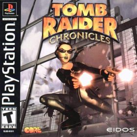 The cover art of the game Tomb Raider: Chronicles.