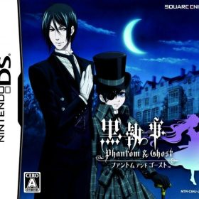 The cover art of the game Kuroshitsuji: Phantom & Ghost (English Patched).