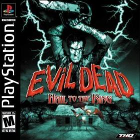 The cover art of the game Evil Dead: Hail To The King.
