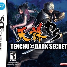 The cover art of the game Tenchu: Dark Secret.