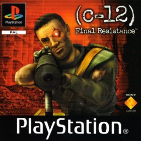 The cover art of the game C-12: Final Resistance.