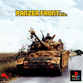 The cover art of the game Panzer Front Bis..