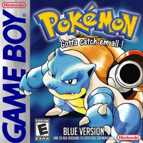The cover art of the game Pokemon Blue Upgrade V2.0 (Hack).