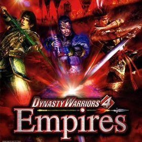 The cover art of the game Dynasty Warriors 4: Empires.