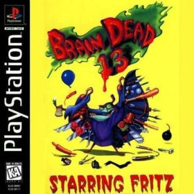 The cover art of the game Brain Dead 13.