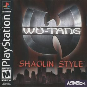 The cover art of the game Wu-Tang: Shaolin Style.
