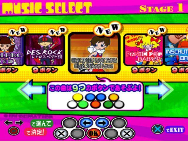 Popn Music 14 Fever Japan EnJa PS2 ISO Cdromance
