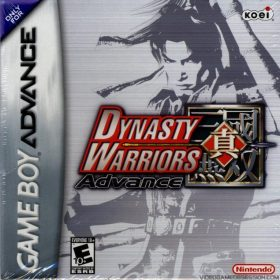 The cover art of the game Dynasty Warriors Advance.